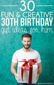 30 creative 30th birthday ideas for