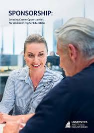 Sponsorship Creating Career Opportunities For Women In