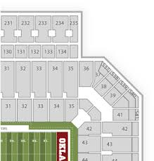 Ou Seating Chart Download Ou Stadium Seating Chart With Rows Png Image With