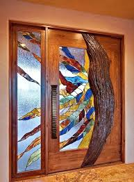 stained glass exterior doors modern stained glass door designs glass designs stained glass front door