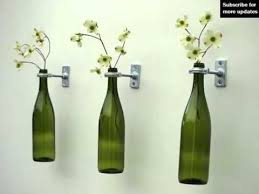 Home Decor With Wine Bottles Wine Bottle Wall Decor Diy Home Decor Picture Ideas YouTube 3