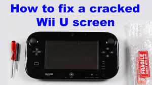 how to repair a cracked screen on the wii u gamepad fix it how to repair a cracked screen on the wii u gamepad fix it tutorials