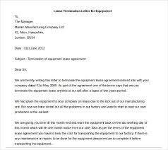 Terminate A Lease Letter Rental Termination Letter Template Business