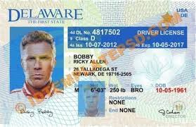 Template Delaware P – Psd Drivers License