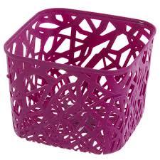<b>Корзинка Curver</b> Neo квадратная, пластик, цвет розовый в ...