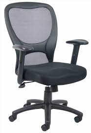 leather united stationary desk chair executive midback black faux leather office chair glides make office stationary