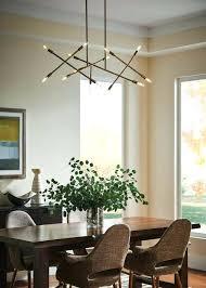 breakfast table lighting medium size of chandeliers modern linear chandelier dining room chandeliers light fixture dinning