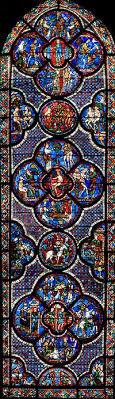 french gothic stained glass windows