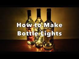 diy how to make bottle lights