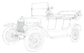 ford f150 coloring page pages classic car model t truck raptor
