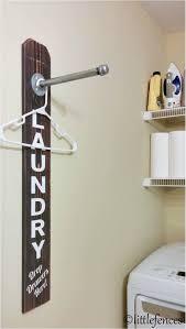 clothing drying rack laundry room sign laundry room organization clothing rack wood