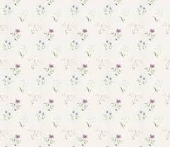 壁紙背景イラスト花の模様柄パターン No280青紫水彩画風