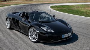 mclaren mp4 12c spider. 2013 mclaren mp412c spider front wallpaper mclaren mp4 12c s