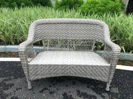 wicker patio loveseats backyard sofa cushions outdoor loveseat cover