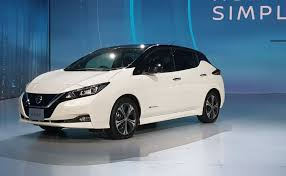2018 nissan electric car. delighful nissan nissan leaf electric car unveiled gets autonomous tech and a range of 400  km intended 2018 nissan electric car