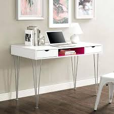 full image for ikea micke white desk table computer workstation modern luxor contemporary curved gloss desks