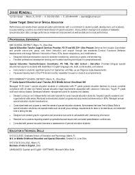 Education Resume Objective By Jesse Kendall Best Professional