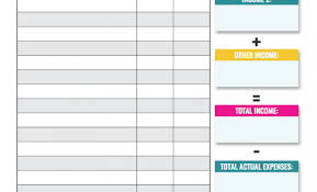 Printable Budgeting Sheets Printable Budget Worksheet For High School Students Tag
