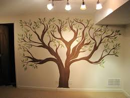 wall painting tree stencils creative genius art family tree wall mural painted wall design