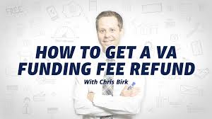 Funding Fee Va Loan Chart How To Get A Va Funding Fee Refund