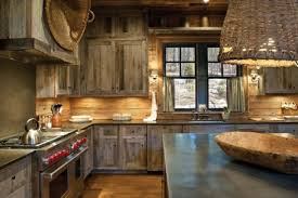 Rustic Color Schemes White Rustic Kitchen Brown Striped Accent Walls Color Schemes Cape
