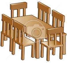 dining chair clipart. Plain Chair Furniture Clipart Dinner Table Dining And Chair Banner Free Stock On Chair Clipart