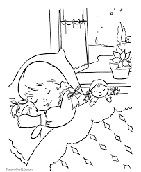 Small Picture Sleeping Coloring Pages Images Pictures Becuo Coloring Home