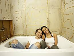 average price for a bathroom remodel. Brilliant Average Bathrooms Budgeting Renovation Couple Sitting In White Bathtub Inside Average Price For A Bathroom Remodel N