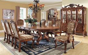formal dining room sets for 8. remarkable formal dining room sets for 8 with buy furniture of america cm3557t set medieve e