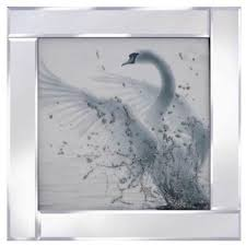 liquid glass wall art pictures with mirror frame unique arts