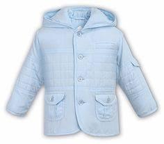 Sarah Louise / Dani Baby Toddler Boys Hooded Coat - Light Blue Designer Clothes 45 Best Boy\u0027s Jackets \u0026 Coats images | Outdoor apparel,