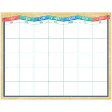 Mod Chart Midcentury Mod Calendar Chart