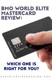 bmo offers the world elite mastercard cashback world elite mastercard and the air miles