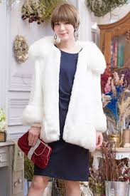 animal fur coat long sleeves warmth worth 2way second party banquet wedding ceremony 1 5 next meeting