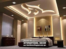 lighting for room. Room Ceiling Modern Suspended Lights For Bedroom False Lighting Ideas Design S