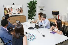 Video Conference Logitech Visualizes Bright Future In Video Conferencing