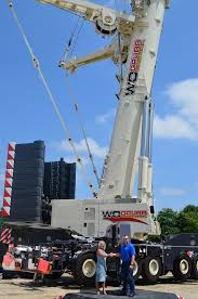 Demag 600 Ton Crane Load Chart W O Grubb Crane Rental Takes Delivery Of New Demag Ac 500 8