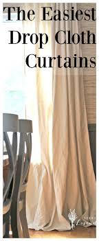 Paint Drop Cloth Curtains Best 25 Canvas Curtains Ideas On Pinterest Drop Cloth Curtains