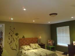 recessed lighting can be installed in bedrooms for low key illumination recessed bedroom0