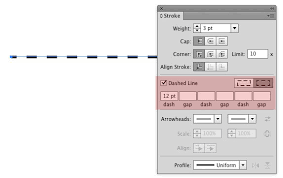 Open a new document by and that is how to make a dotted line in illustrator. Converting A Dashed Line Into Multiple Lines In Illustrator Graphic Design Stack Exchange