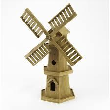 decorative wooden windmill the garden