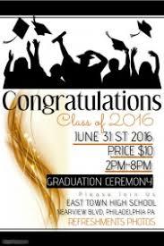 Graduation Program Template Pdf Customize 520 Graduation Poster Templates Postermywall