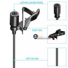 Micro thu âm Boya BY M1 - Micro ghi âm cài áo cho điện thoại máy tính dùng  dạy học livestream làm vlog, youtube - Phụ kiện âm thanh Nhãn hiệu BOYA