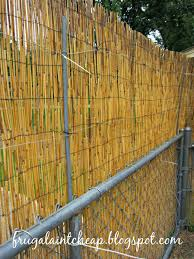 chain link fence bamboo slats. I Attached The Zip Tie From Inside. Making Sure Wire On Fence Was To Either Chain Link Or New Stakes/metal Wire. Bamboo Slats H