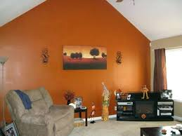 orange wall paint burnt orange accent wall room ideas with burnt orange walls wallpaper stripes accent orange wall