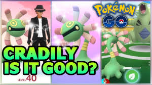NEW EVOLUTION CRADILY IN POKEMON GO | CRADILY BREAKDOWN & GEN 3 GYM BATTLES  - YouTube