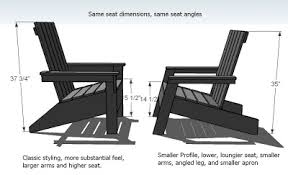 modern adirondack chair plans. Fine Adirondack But The Chair Above Is Also Going To Be Easier Build Because Of  Sharper Edge Weu0027ll Call This Sharp Adirondack Chair On Modern Chair Plans