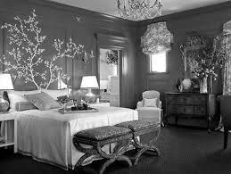 bedroom light grey bedroom walls dark gray rug brown platform floating bed colorful stripes
