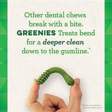 Greenies Dog Dental Chews Dog Treats Teenie Size 5 15 Lb