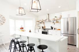 before and after kitchen makeover diy in this house to home episode with popular florida blogger